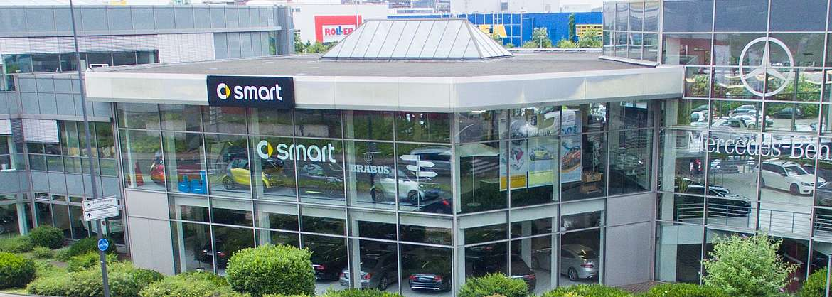 Das Essener smart Center von LUEG Compact Car
