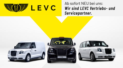 LEVC – London Electric Vehicle Company jetzt im Volvo Centrum Rhein Ruhr