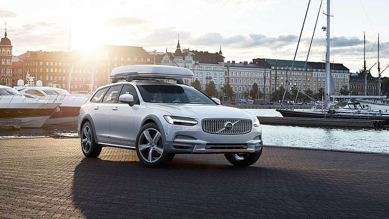 Editionsmodell Volvo V90 Cross Country Ocean Race