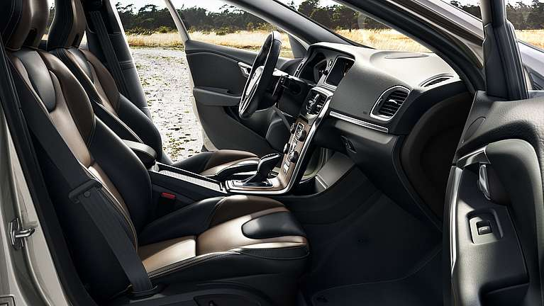 Interieur des Volvo V40 Cross Country