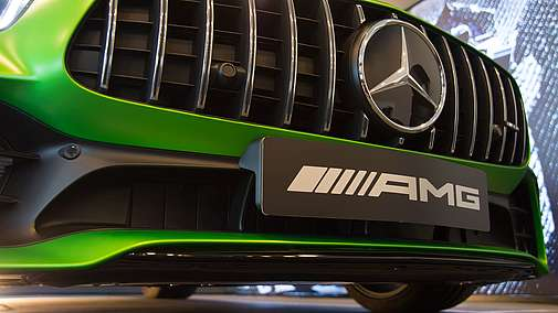 Die Sneak Preview des Mercedes-AMG GT R im AMG Performance Center Essen