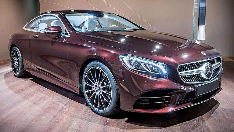 Das Mercedes-Benz S-Klasse Coupé als Sondermodell Exclusive Edition