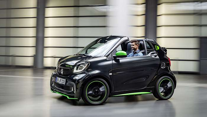 smart electric drive greenflash