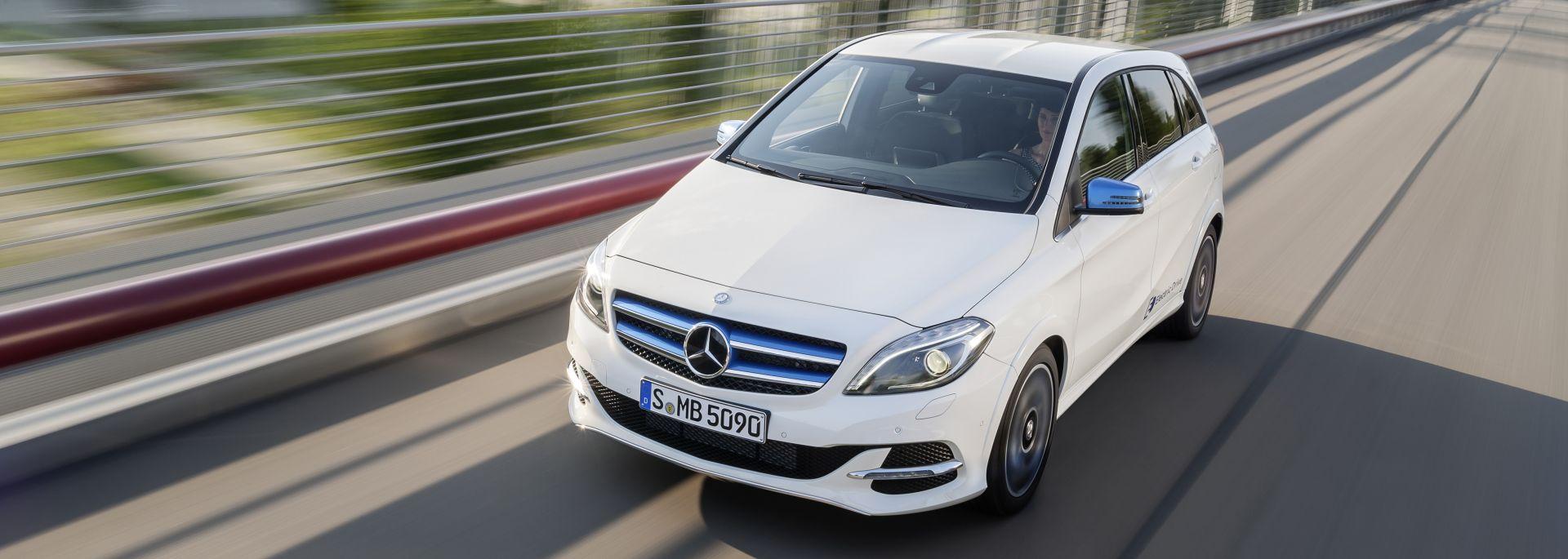 Mercedes benz b klasse electric drive lueg for Mercedes benz maintenance b