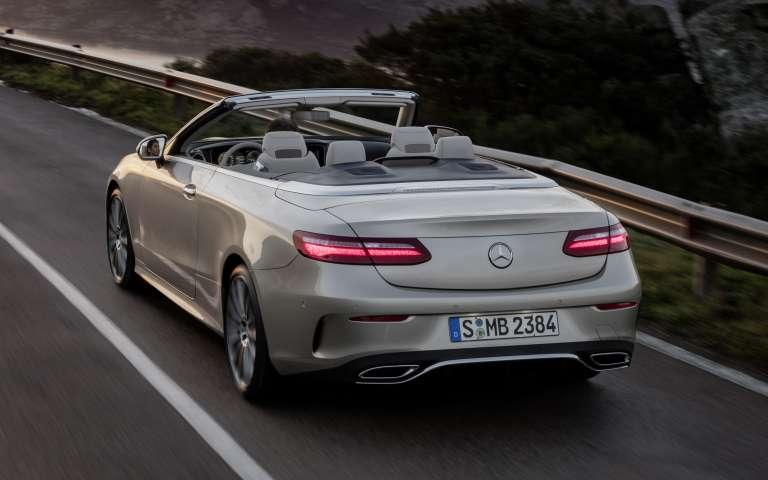 Mercedes Benz E Klasse Cabriolet Lueg