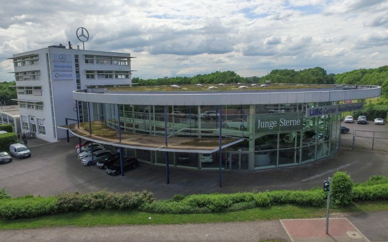 mercedes-center lueg recklinghausen - lueg