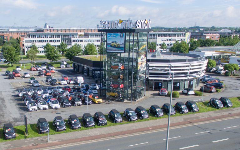 smart center am centro oberhausen lueg