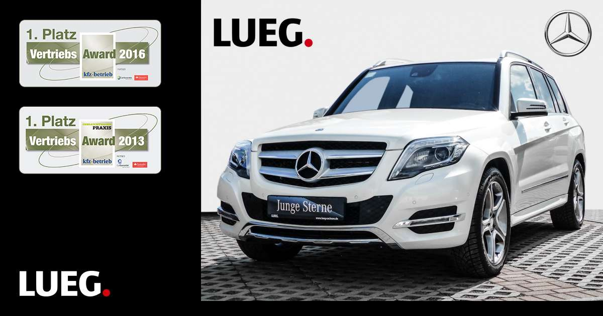 lueg gebrauchtwagen mercedes benz glk 220 cdi 4m be. Black Bedroom Furniture Sets. Home Design Ideas